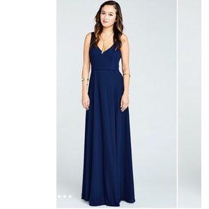 NEW! Show Me Your Mumu | Jenn Maxi Dress Navy